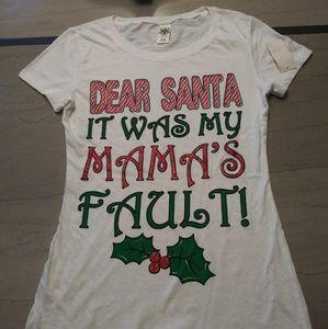Dear Santa T-Shirt Size L